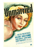 Unmarried, Helen Twelvetrees, 1939 Posters