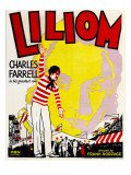Liliom, Charles Farrell, Rose Hobart on Window Card, 1930, Posters