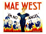 I'm No Angel, Cary Grant, Mae West, Mae West, 1933 Prints