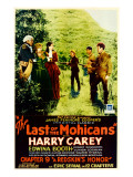 The Last of the Mohicans, Edward Hearn, Lucile Browne, Edwina Booth, Harry Carey, 1932 Posters
