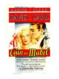 Cain and Mabel, Marion Davies, Clark Gable, 1936 Poster