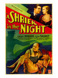 A Shriek in the Night, Lyle Talbot, Ginger Rogers, Harvey Clark, Ginger Rogers, 1933 Print