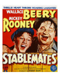 Stablemates, Mickey Rooney, Wallace Beery on Window Card, 1938 Prints
