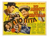 Rio Rita, Bud Abbott, Lou Costello, 1942 Posters