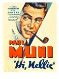 Hi, Nellie, Paul Muni, 1934 Photo