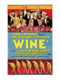 Wine, 1924 Posters