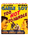 Too Hot to Handle, 1938 Posters