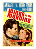 Wings of the Morning, Henry Fonda, Annabella on Midget Window Card, 1937 Posters