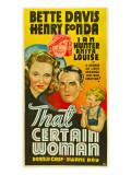 That Certain Woman, Bette Davis, Anita Louise, Henry Fonda, Dwayne Day, 1937 Photo