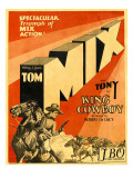 King Cowboy, Lower Left, 1928 Posters