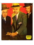 Benson Murder Case, Eugene Pallette, William Powell on Jumbo Window Card, 1930 Posters