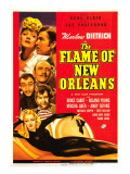 The Flame of New Orleans, Marlene Dietrich, Bruce Cabot, Roland Young, 1941 Posters