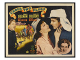 Under Two Flags, Victor Mclaglen, Claudette Colbert, Ronald Colman, Rosalind Russell, 1936 Lmina