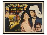Under Two Flags, Victor Mclaglen, Claudette Colbert, Ronald Colman, Rosalind Russell, 1936 Print