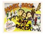 A Day at the Races, Harpo Marx, Groucho Marx, Chico Marx, 1937 Photo