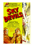 Sky Devils, William Boyd, Spencer Tracy, 1932 Lminas