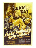 Flash Gordon's Trip to Mars, Larry 'Buster' Crabbe, 1938 Posters