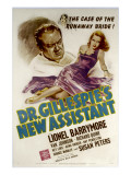 Dr. Gillespie&#39;s New Assistant, Lionel Barrymore, Susan Peters, 1942 Affiches