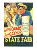 State Fair, Lew Ayres, Janet Gaynor, Will Rogers, 1933 Lminas