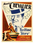 A Bedtime Story, Maurice Chevalier, 1933 Photo