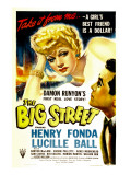 The Big Street, Lucille Ball, 1942 Poster