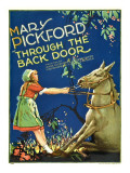 Through the Back Door, Mary Pickford, 1921 Poster