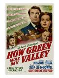 How Green Was My Valley, 1941 Plakáty