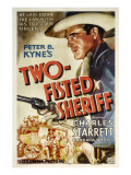 Two-Fisted Sheriff, Charles Starrett, 1937 Photo