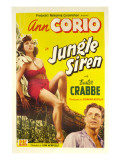 Jungle Siren, Ann Corio, Buster Crabbe, 1942 Prints