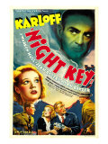 Night Key, Boris Karloff, Jean Rogers, Warren Hull, Jean Rogers, 1937 Prints