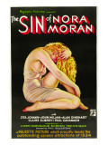 The Sin of Nora Moran, Poster Art, 1933 Photo