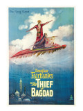 The Thief of Bagdad, Douglas Fairbanks, Sr., Julanne Johnson, 1924 Posters