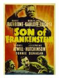 Son of Frankenstein, 1939 Posters