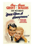 Once Upon a Honeymoon, Cary Grant, Ginger Rogers, 1942 Posters