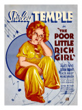 Poor Little Rich Girl, Shirley Temple, 1936 Posters