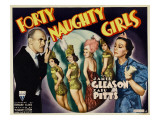 Forty Naughty Girls, 1937 Prints