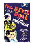 The Devil Doll, Lionel Barrymore (In Drag), Frank Lawton, Maureen O'sullivan, 1936 Posters