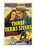 Three Texas Steers, Carole Landis, John Wayne, 1939 Photo
