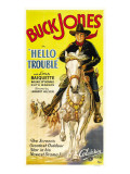 Hello Trouble, Buck Jones, 1932 Posters