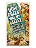 How Green Was My Valley, 1941 Affiches