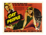 Cat People, 1942 Plakater