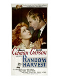 Random Harvest, Greer Garson, Ronald Colman, 1942 Psters