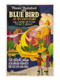 The Blue Bird, Poster Art, 1940 Print