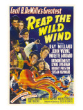 Reap the Wild Wind, Ray Milland, Paulette Goddard, 1942 Julisteet