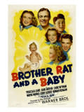 Brother Rat and a Baby, 1940 Print