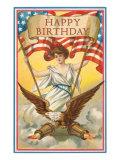 Happy Birthday, Patriotic Art