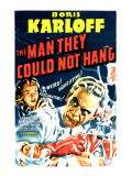 The Man They Could Not Hang, Boris Karloff, Lorna Gray, Robert Wilcox, 1939 Photo