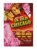In Old Chicago, Alice Faye, Tyrone Power, Don Ameche, 1937 Posters