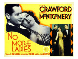 No More Ladies, 1935 Prints