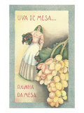 Portuguese Table Grape Label Posters